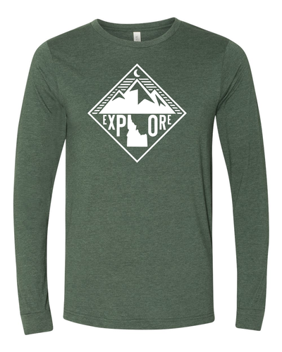 Mens | Long Sleeves | Mountains