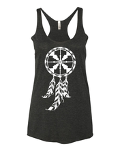Load image into Gallery viewer, Womens | Racer Tank | Dreamcatcher
