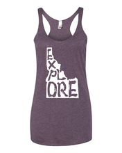 Load image into Gallery viewer, Womens | Racer Tank | Explore