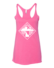 Load image into Gallery viewer, Womens | Racer Tank | Mountains
