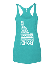 Load image into Gallery viewer, Womens | Racer Tank | Native