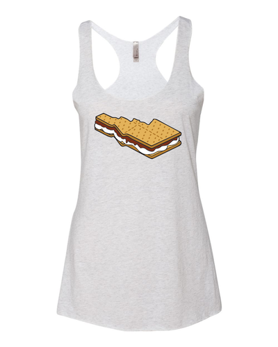 Womens | Racer Tank | S'mores