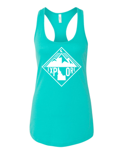 Womens | Tank Top | Mountains