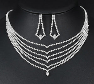 Unique Crystal Bridal Jewelry Sets