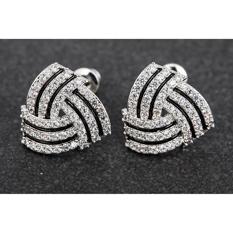 Earrings Stud Earrings Silver Earrings Swarovski Earrings For Women Fashion Jewelry Accessories