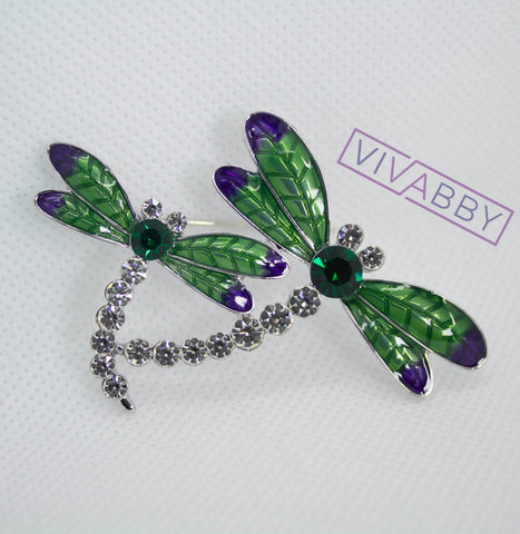 brooch diamond brooch vintage brooch jewelry fashion accessories dragonfly brooch silver jewelry gold jewelry gold brooch swarovski brooch
