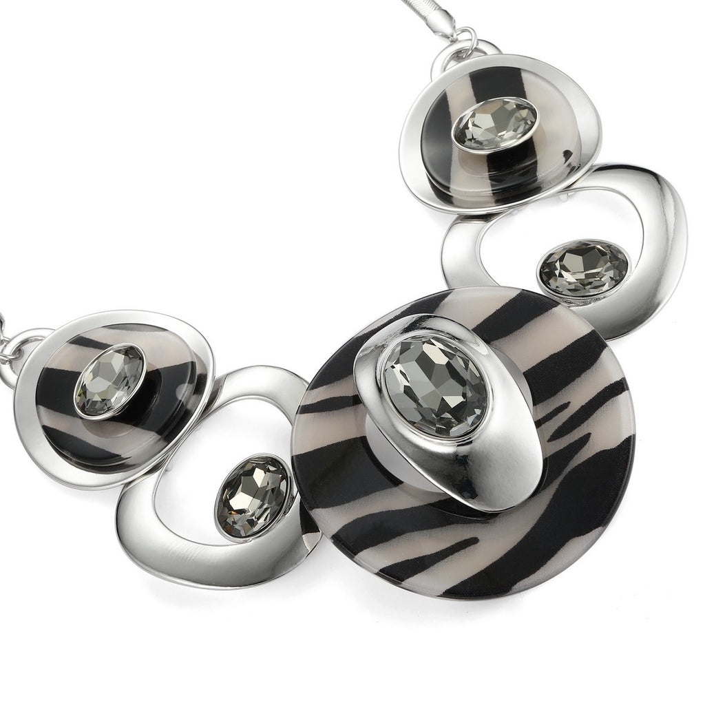 necklace and earring fashion jewelry set jewelry for women silver jewelry