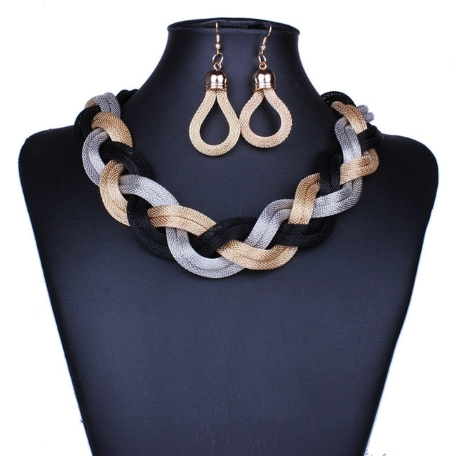 necklace and earring fashion jewelry set jewelry for women