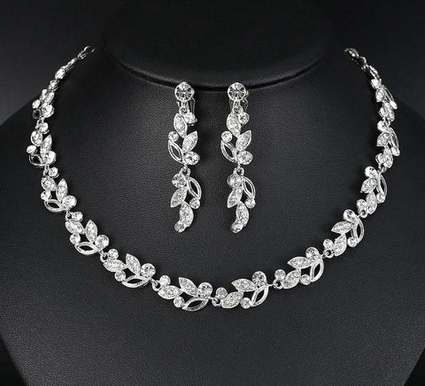 vivabby unique wedding jewelry set