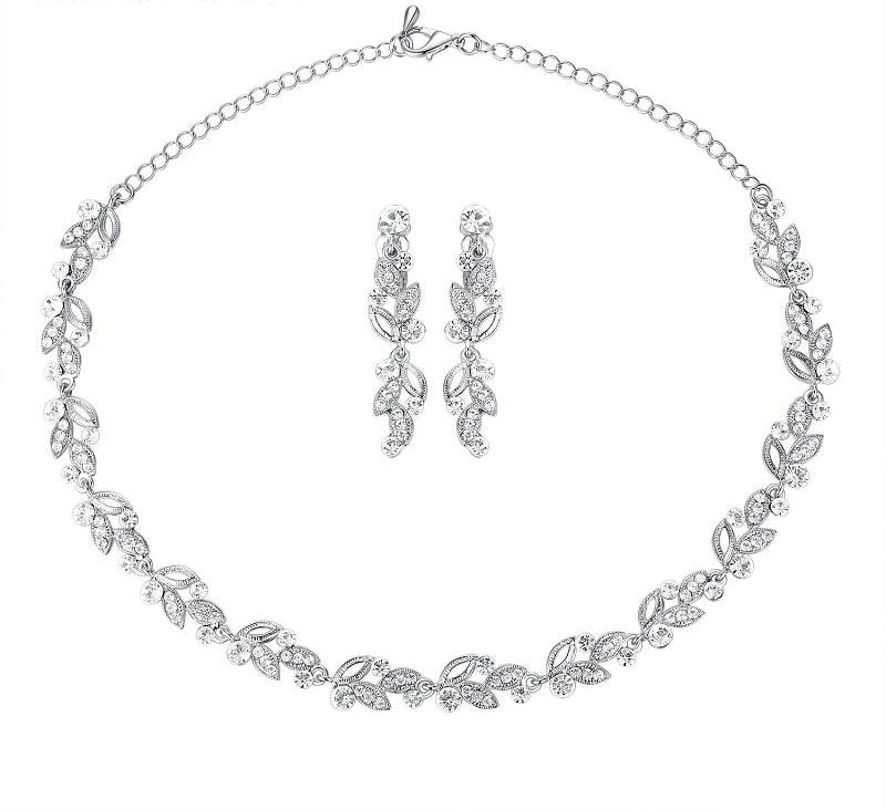 Trendy Bridal Jewelry Set Unique Wedding Jewelry Set