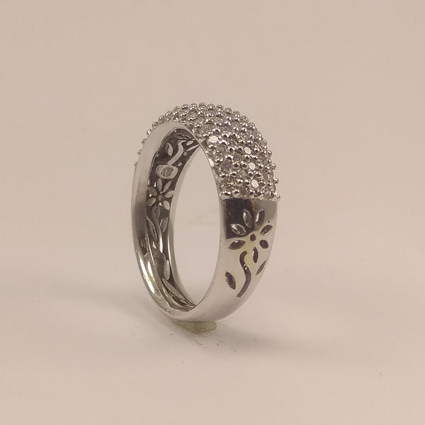 Anillo pave mediano