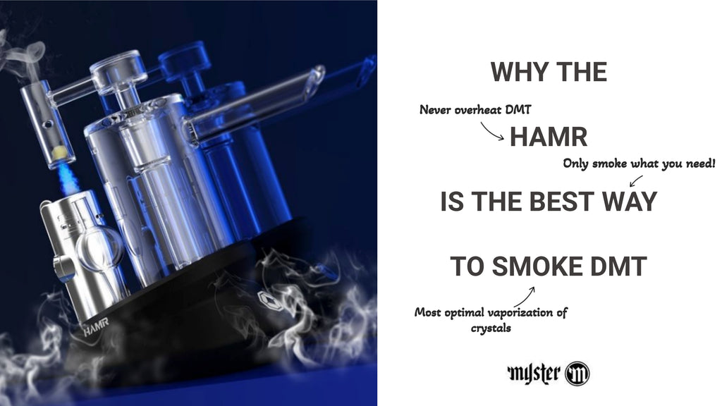 HAMR is the best to smoke DMT