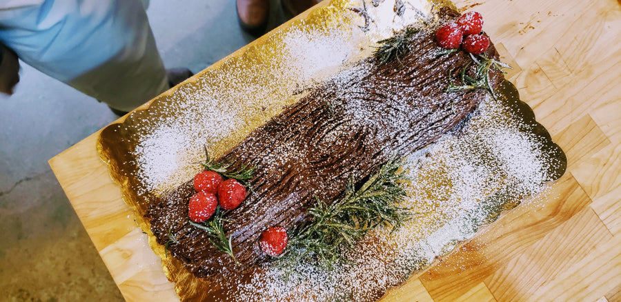 COOKING WITH YOUR KIDS | YULE LOG (AGES 6-9)