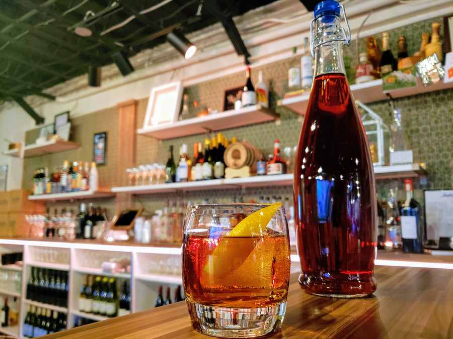 Batch Barrel Aged Negroni