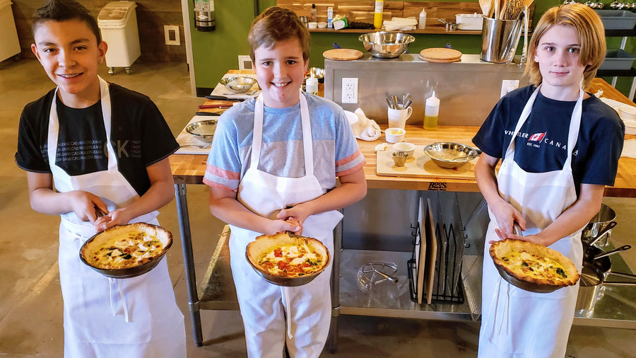 6th-8th Grades | Junior Chef Summer Camp Trip A | May 31-June 4 | PM