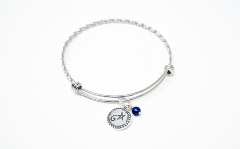 Goodbye Ed, Hello Me® Silver Bracelet and Charm