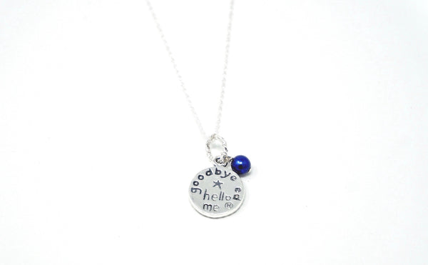 Goodbye Ed, Hello Me® Sterling Silver Necklace and Charm