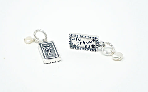 Life Without Ed® Sterling Silver Charm