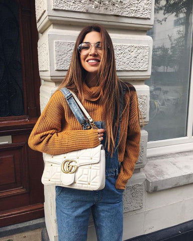 Negin Mirsalehi Overalls Outfit