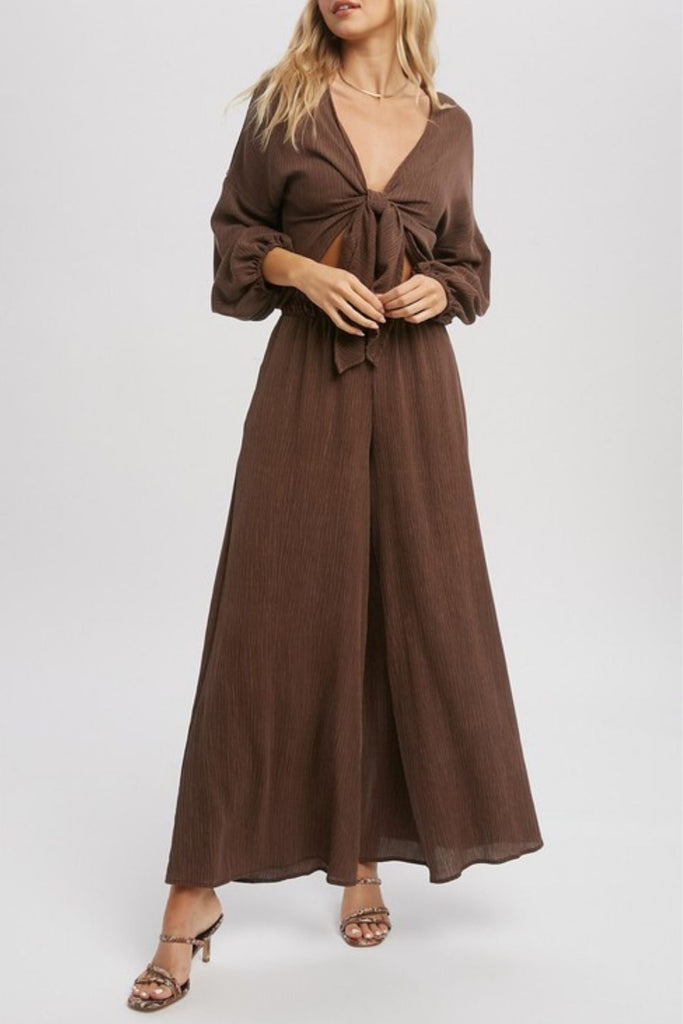 Light Yellow Wrap Tee by Arrays - No Rest For Bridget