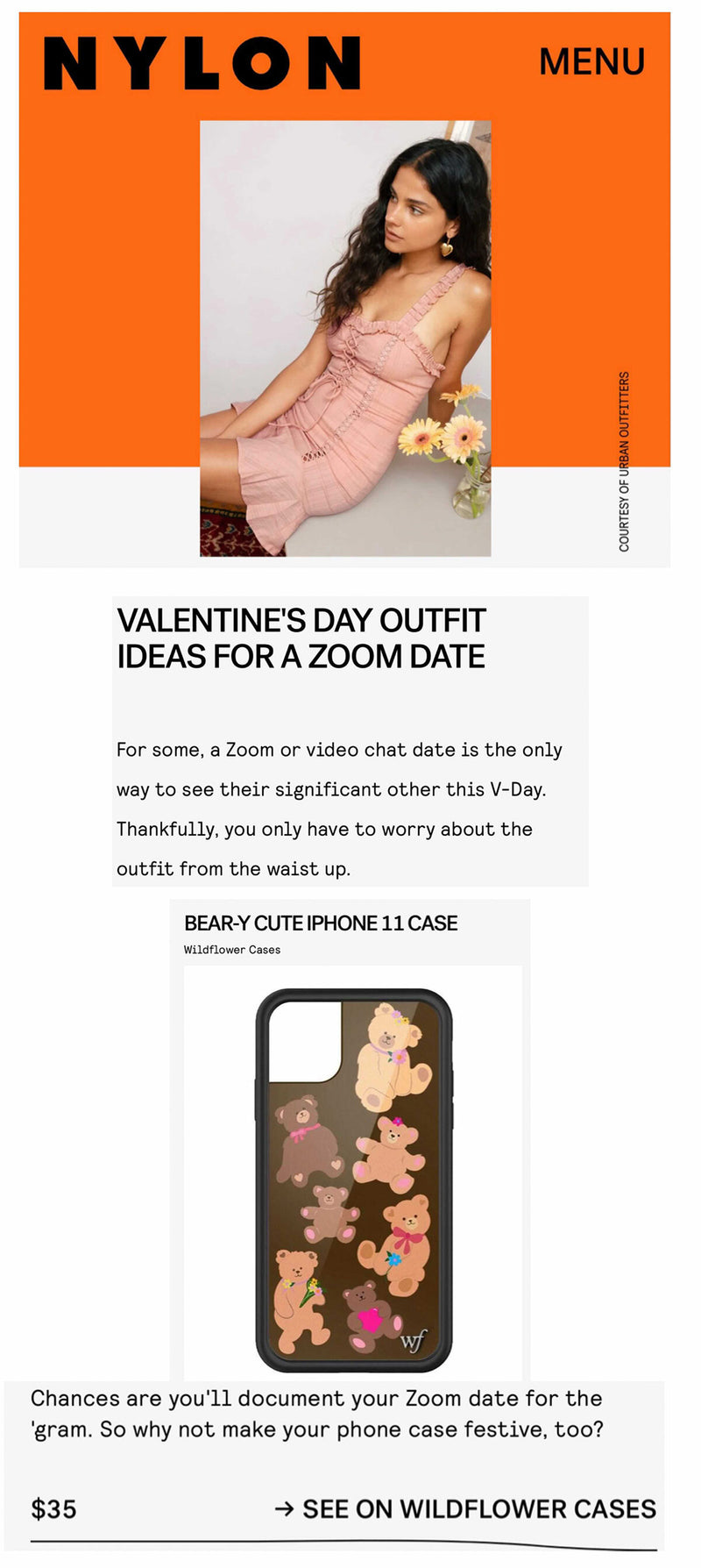 17 OUTFIT IDEAS FOR YOUR VALENTINE'S DAY PLANS, FROM A CHILL NIGHT IN TO ZOOM DATES