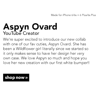 Exclusive Aspyn Ovard X Wildflower iPhone Case Collection