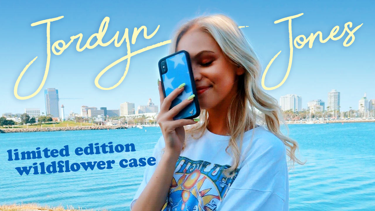 Jordyn Jones x Wildflower Cases
