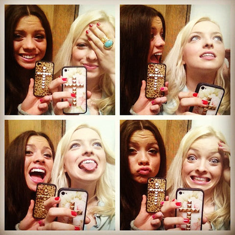 Morgan and Francesca Eastwood & Wildflower Cases