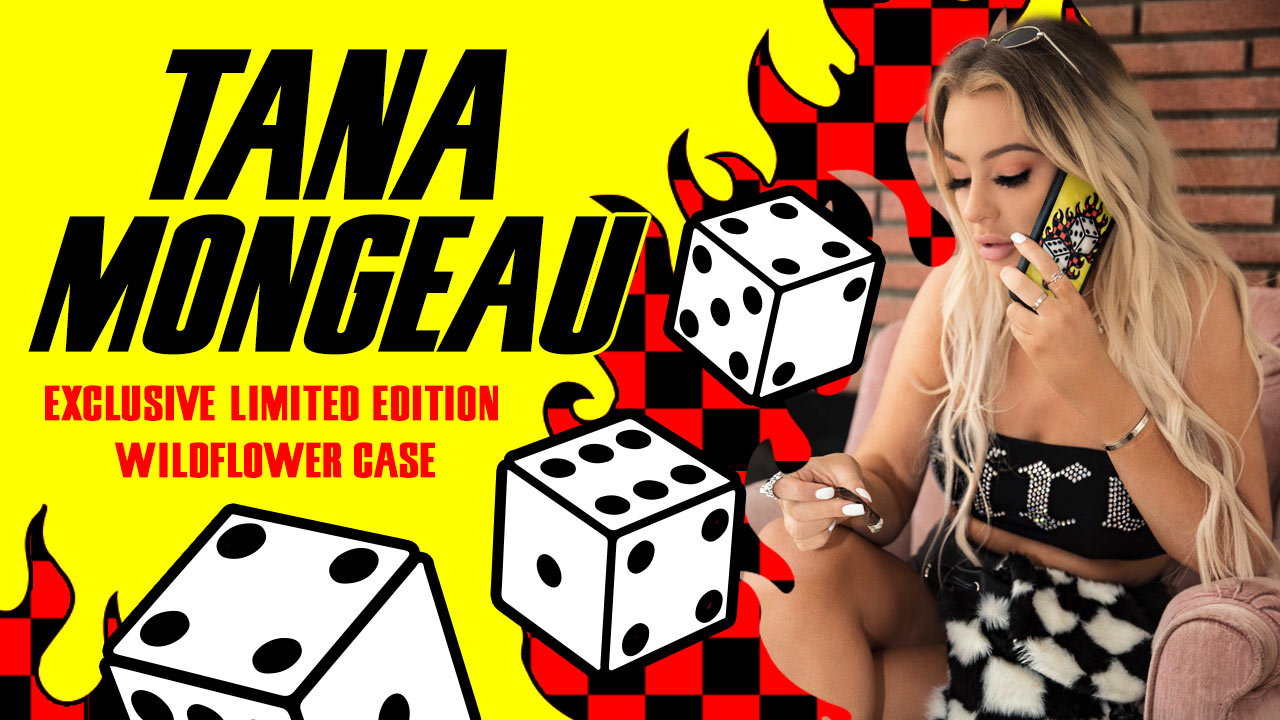 reputable site 5658a c90f3 Tana Mongeau x Wildflower Cases