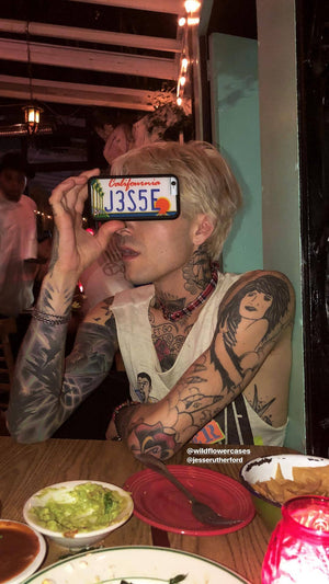 Jesse Rutherford Customizable Califournia iPhone 6+/7+/8+ Plus Case