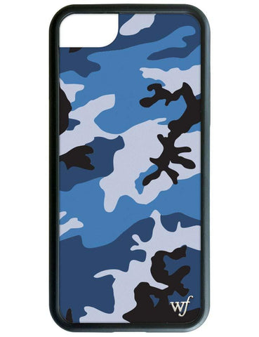 Blue Camo iPhone 6/7/8 Case