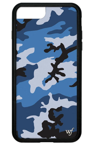 Blue Camo iPhone 6/7/8 Plus Case