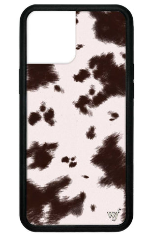 Cowhide iPhone 12 Pro Max Case
