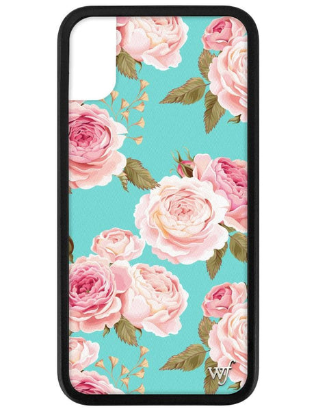 Blue Floral iPhone X/Xs Case