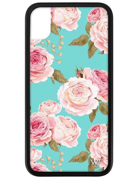 Blue Floral iPhone Xr Case