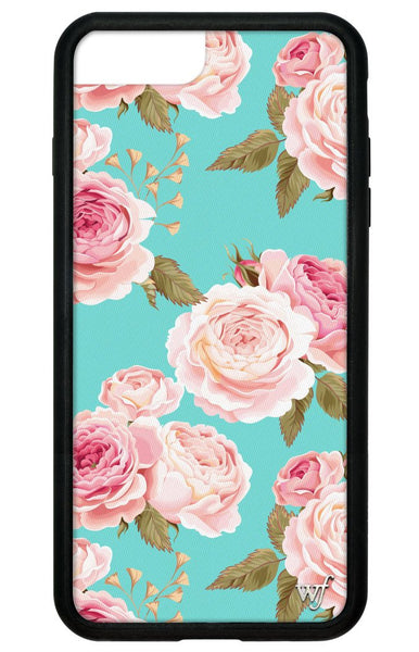 Blue Floral iPhone 6/7/8 Plus Case
