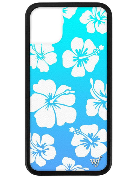 Blue Hibiscus iPhone 11 Case