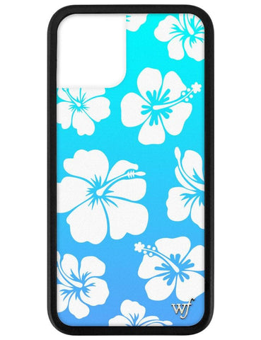 Blue Hibiscus iPhone 11 Pro Case
