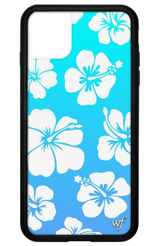 Blue Hibiscus iPhone 11 Pro Max Case