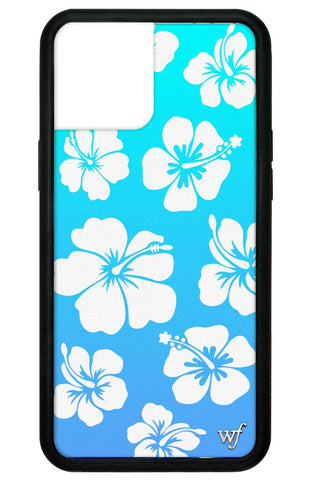 Blue Hibiscus iPhone 12 Pro Max Case