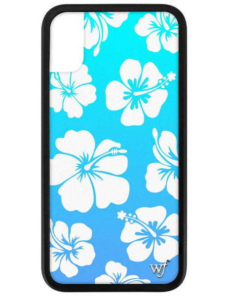 Blue Hibiscus iPhone X/Xs Case