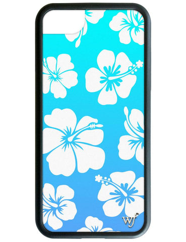 Blue Hibiscus iPhone 6/7/8 Case