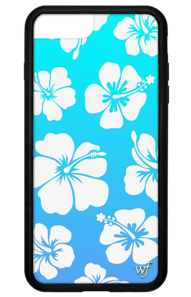 Blue Hibiscus iPhone 6+/7+/8+ Plus Case