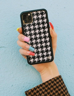 Houndstooth iPhone 12 Pro Max Case