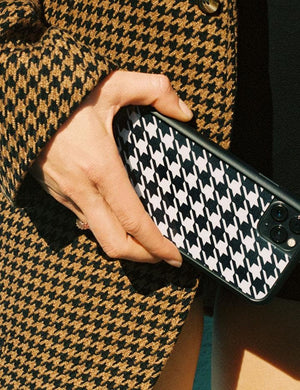 Houndstooth iPhone 6+/7+/8+ Plus Case