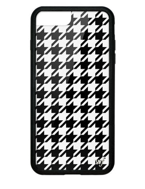 wildflower houndstooth iphone 678p