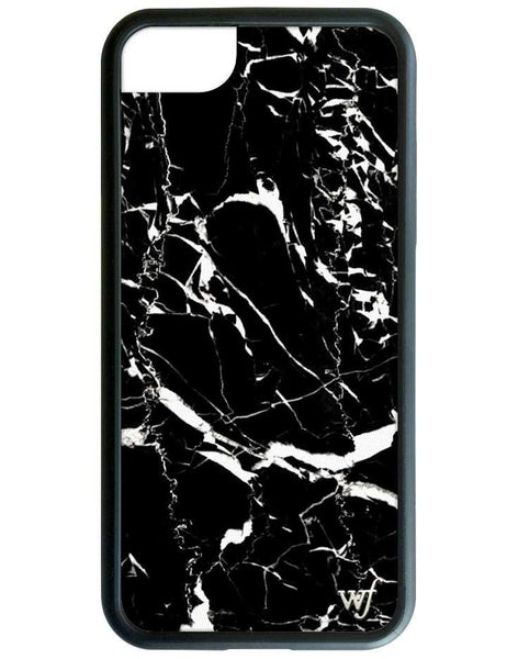 Wildflower Black Marble iPhone 7 Case