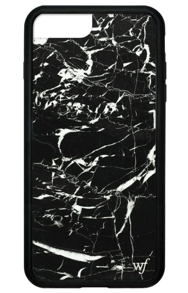 save off 3c5e0 bad1e Black Marble iPhone 6+/7+/8+ Plus Case