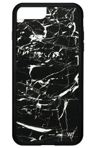 Wildflower Black Marble iPhone 7 Plus Case