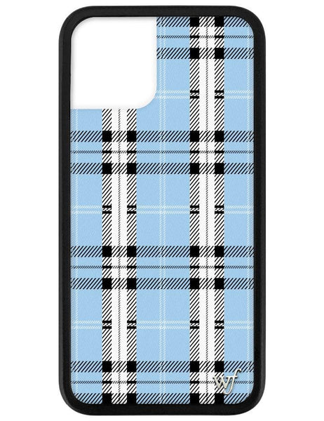 Blue Plaid iPhone 11 Pro Case